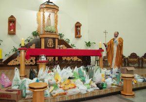Último dia do Cerco de Jericó arrecada cerca de 300 kg de mantimentos