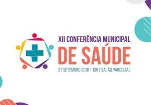 Conferência Municipal de Saúde acontece na tarde desta quinta-feira (27)
