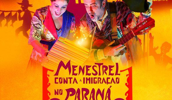 """Espetáculo """"Menestrel conta a imigração no Paraná"""", estreia no CEDAG"""
