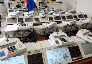 Cartório Eleitoral de Palmeira prepara urnas para eleição