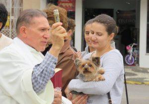 Benção dos animais marca dia de São Francisco de Assis