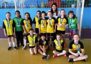 Equipes do município se destacam na Copa Palmeira de Handebol
