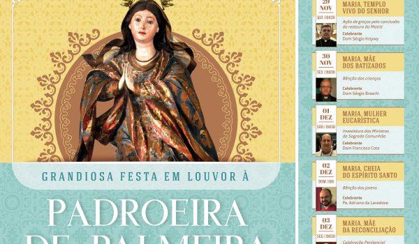 Festa da Padroeira contará com a presença de cinco Bispos