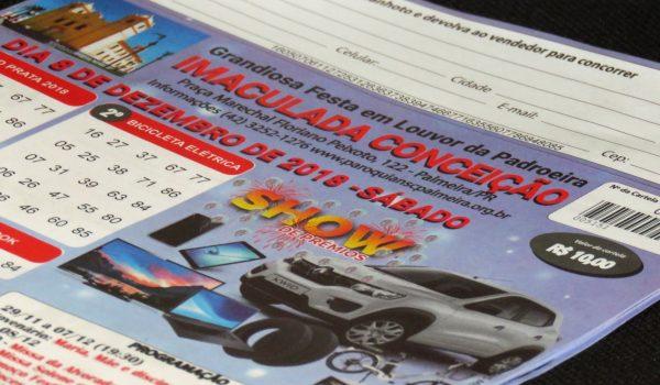 Um automóvel Kwid será sorteado na festa da Padroeira de Palmeira