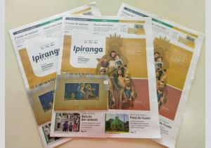 Jornal Ipiranga de novembro aborda os santos padroeiros das comunidades