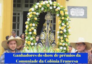 Comunidade da Colônia Francesa realizou sorteio do Show de Prêmios