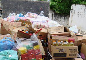 Paróquia de Palmeira envia alimentos para o Seminário, em Curitiba