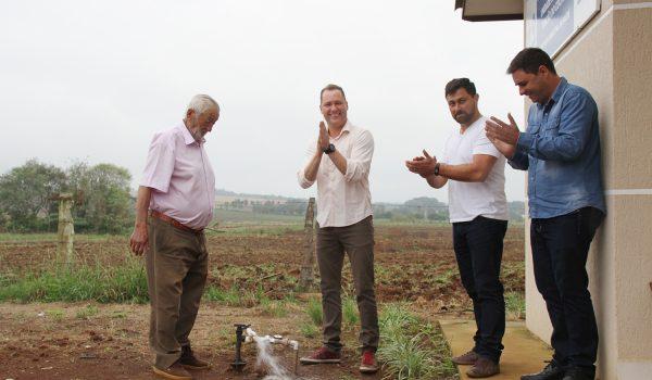 Inaugurado sistema de abastecimento de água que atenderá mais de 130 famílias de Rincão do Cocho