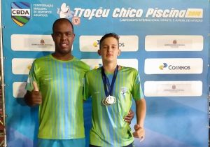 Luigi conquista duas medalhas em campeonato internacional de natação