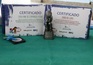 """Alunos e professores palmeirenses são premiados no """"X Televisando o Futuro"""""""