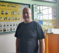 O diretor Rogério  Schnell explicou o processo seletivo para 2019 e comentou sobre a trajetória do Colégio Agrícola Estadual Getúlio Vargas