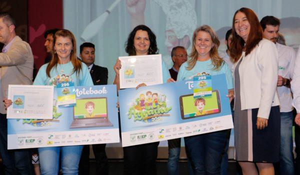 Palmeira recebe prêmios do Concurso Agrinho 2018