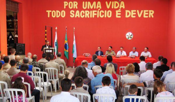 Solenidade marca os 20 anos do Corpo de Bombeiros em Palmeira