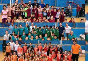 Cerimônia de encerramento do 14° Minibol premia escolas destaque