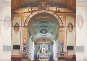 Igreja Matriz restaurada volta às características dos anos 1950