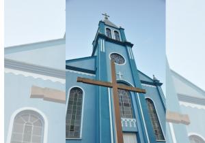Dom Peruzzo celebra ordenação diaconal em Porto Amazonas