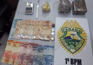 Tráfico de entorpecentes, assalto e drogas para consumo são atendidos pela Polícia Militar
