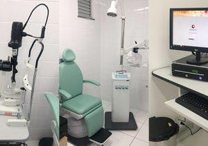 Sala de oftalmologia recebe investimento de quase R$ 60 mil em equipamentos