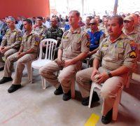 Atualmente são 23 bombeiros que compõem a equipe de Palmeira