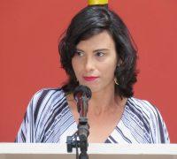 Carla Nepomocemo Kapp, primeira vítima atendida pelo Corpo de Bombeiros de Palmeira esteve