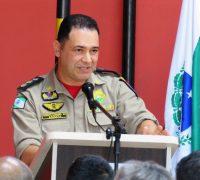 Ten. Cel. QOBM Hemerson Saqueta Barbosa esteve prestigiando o evento e a guarnição de Palmeira