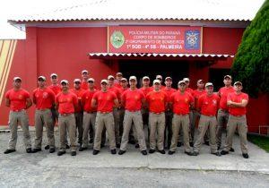 Corpo de Bombeiros de Palmeira comemora 20 anos de atividades