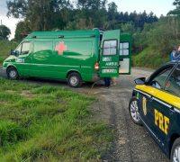 De acordo com a PRF, o acidente aconteceu por volta das 17h40, no km 206 da rodovia, sentido Palmeira a Guarapuava.