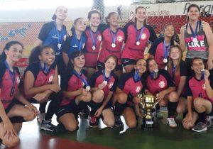 Palmeira é ouro na Copa Paranaguá de Handebol na categoria sub 14