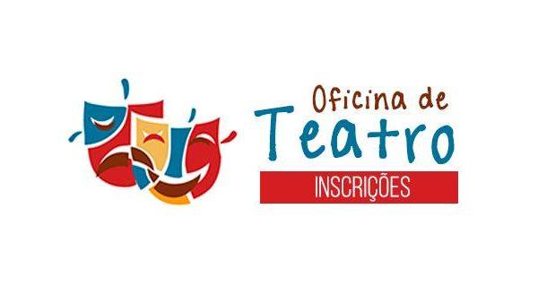 """Secretaria de Cultura promove """"Oficina Teatral"""" e as inscrições já podem ser realizadas no site"""