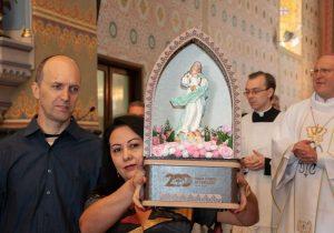 Missa da festa da padroeira deu início a peregrinação da imagem de Nossa Senhora da Conceição