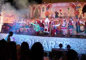 Descentralização de apresentações levou ações de Natal para bairros de Palmeira