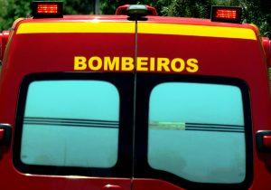 Corpo de Bombeiros registra acidente de trânsito e dois atendimentos pré-hospitalares