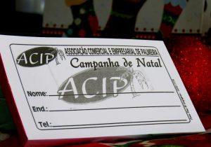 Aproximadamente 50 mil cupons da Campanha de Natal da ACIP já foram entregues