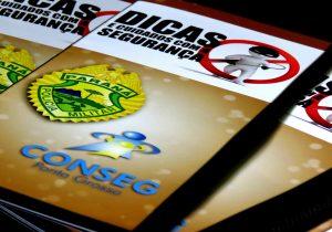PM e Conseg de Ponta Grossa lançam manual com dicas de segurança