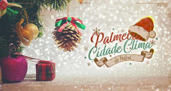 'Palmeira, Cidade Clima de Natal' terá programação descentralizada