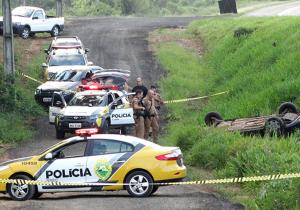 Suspeitos de assalto a banco entram em confronto com a PM de Palmeira