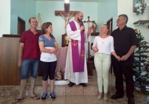 Em missa de Ação de Graças, Pastoral Familiar troca coordenação