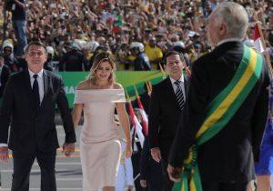 Com maior esquema de segurança praticado em Brasília, Bolsonaro toma posse como Presidente do Brasil