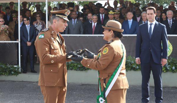 O novo comandante-geral da Polícia Militar do Paraná assume compromisso da valorização dos profissionais