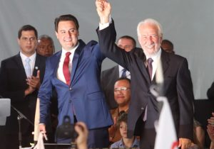 Ratinho Júnior tomou posse como Governador do Estado do Paraná