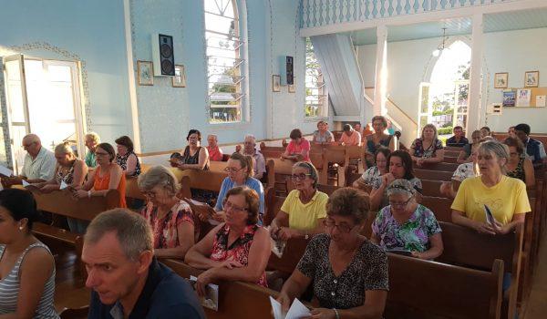 Visita da imagem peregrina fortalece a união da comunidade do Lago
