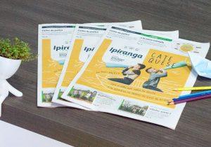 Jornal Ipiranga de fevereiro destaca papel da catequese