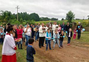 Poço Grande é a 11ª comunidade que recebe a imagem peregrina