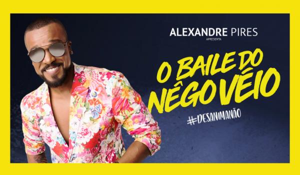 Alexandre Pires vem para Expo Palmeira