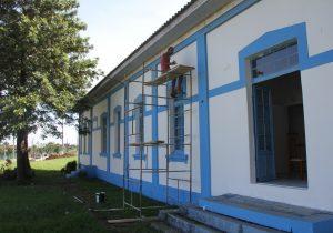 Secretaria de Indústria e Comércio revitaliza prédio do SENAI