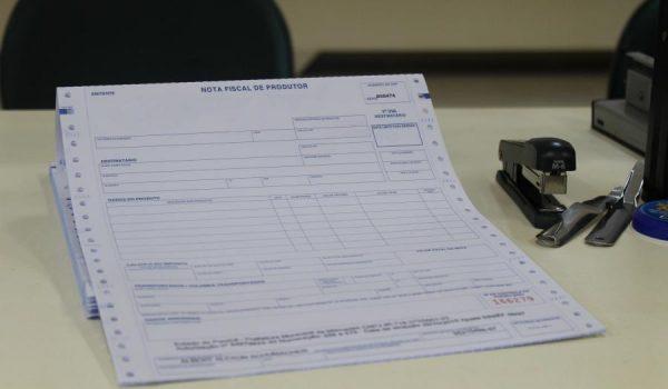 Notas fiscais de produtor rural devem ser entregues à Secretaria de Finanças até 15 de março