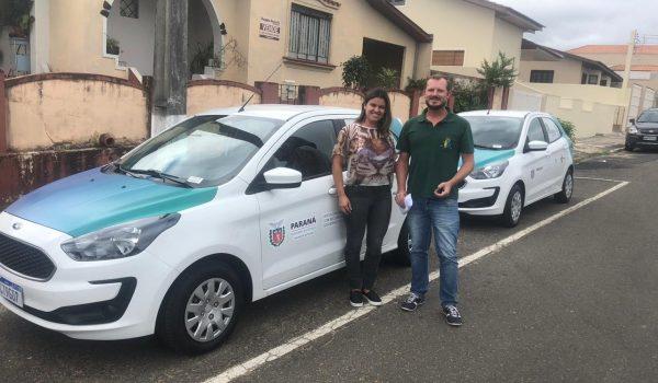 Secretaria de Saúde recebe novos veículos para transportar pacientes e servidores