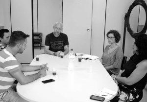 Representantes da Cultura e Educação de Palmeira realizam visita técnica no Museu Campos Gerais