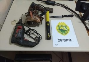 Policia Militar realizou Operação Bloqueio I em Palmeira