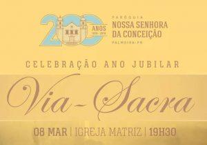 Hoje (08) acontece celebração Jubilar na Matriz